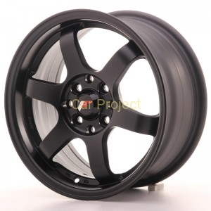 Japan Racing  JR3  15x7  ET40  4x100 / 4x114,3  Matt Black