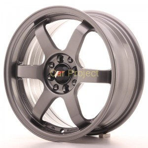 Japan Racing  JR3  16x7  ET40  4x100 / 4x114,3  Gun Metal